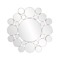 Howard Elliott Collection 99127 Meridian 31 X 31 inch Wall Mirror, Round, Disk Frame photo thumbnail