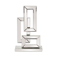 Howard Elliott Collection 99161 Signature 19 X 11 inch Sculpture, Geometric, Mirrored, Small
