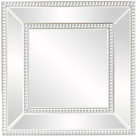 Howard Elliott Collection 99173 Bijou 20 X 20 inch Wall Mirror, Square, Glass Beaded Trim photo thumbnail