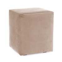 Howard Elliott Collection C128-224 Bella Bold Neutral Sand Cube Cover, Universal Cube photo thumbnail