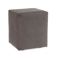 Howard Elliott Collection C128-225 Bella Pewter Gray Cube Cover, Universal Cube photo thumbnail
