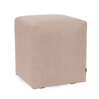 Howard Elliott Collection C128-610 Prairie Natural Linen Cube Cover, Universal Cube photo thumbnail
