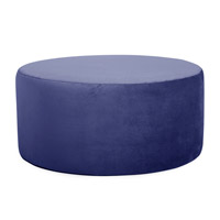 Howard Elliott Collection C132-972 Bella 18 inch Bold Royal Blue Ottoman Cover photo thumbnail