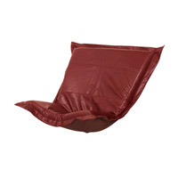 Howard Elliott Collection C300-193 Puff Deep Red Chair Cover photo thumbnail