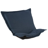 Howard Elliott Collection C300-658 Scroll Puff Indigo Blue Chair Cover