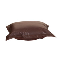Howard Elliott Collection C310-192 Avanti 1 inch Deep Brown Ottoman Cover photo thumbnail