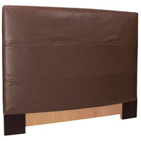 Avanti Deep Brown Queen Slipcovered Headboard