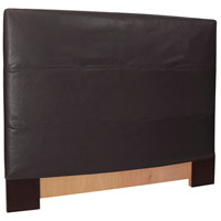 Avanti Rich Black Queen Slipcovered Headboard