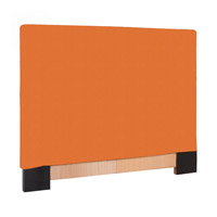 Signature Orange Slipcovered Headboard, Linen Texture