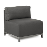 Howard Elliott Collection K920T-201 Sterling Charcoal Gray Accent Chair Home Decor