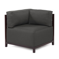 Howard Elliott Collection K921M-201 Sterling Charcoal Gray Accent Chair Home Decor