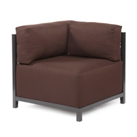 Howard Elliott Collection K921T-202 Sterling Rich Chocolate Brown Accent Chair Home Decor