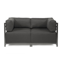 Howard Elliott Collection K922T-201 Sterling Charcoal Gray Sofa