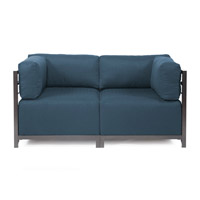 Howard Elliott Collection K922T-230 Axis Indigo Blue Sofa photo thumbnail