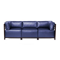 Howard Elliott Collection K923M-873 Axis Blue Sofa photo thumbnail