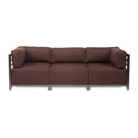 Howard Elliott Collection K923T-202 Sterling Rich Chocolate Brown Sofa