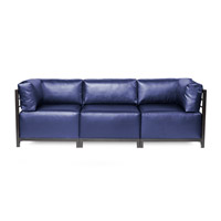 Howard Elliott Collection K923T-873 Axis Blue Sofa photo thumbnail