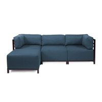 Howard Elliott Collection K924M-230 Axis Indigo Blue Sofa photo thumbnail