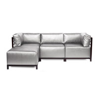 Howard Elliott Collection K924M-788 Axis Silver Sofa photo thumbnail