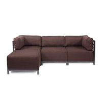 Howard Elliott Collection K924T-202 Sterling Rich Chocolate Brown Sofa