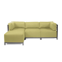 Howard Elliott Collection K924T-204 Axis Willow Green Sofa photo thumbnail
