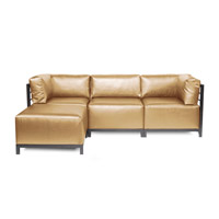 Howard Elliott Collection K924T-880 Axis Gold Sofa photo thumbnail
