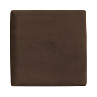 Howard Elliott Collection P1-220 Bella Deep Chocolate Brown Wall Art Panel, Pixel photo thumbnail