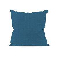 Seascape 16 X 6 inch Ocean Blue Outdoor Pillow, Square