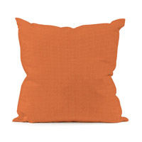 Seascape 20 X 6 inch Orange Outdoor Pillow, Square