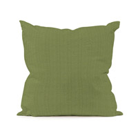 Seascape 20 X 6 inch Yellow and Green Outdoor Pillow, Square