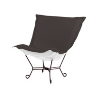 Howard Elliott Collection Q555-460 Seascape Gray Outdoor Patio Chair