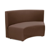 Seascape Chocolate Brown Outdoor Bench