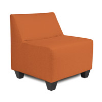 Seascape Orange Outdoor Pod Chair