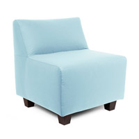 Howard Elliott Collection Q823-461 Seascape Breeze Light Blue Breeze Outdoor Pod Chair