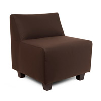 Howard Elliott Collection Q823-462 Seascape Chocolate Brown Outdoor Pod Chair