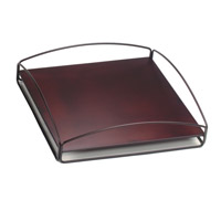 Howard Elliott Collection Q849-03 Signature Mahogany Outdoor Tray