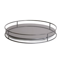 Howard Elliott Collection Q849-11 Signature Titanium Outdoor Tray