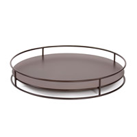 Howard Elliott Collection Q849-13 Signature Mahogany Outdoor Tray