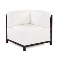 Howard Elliott Collection Q921-944 Axis White Corner Chair Cover photo thumbnail