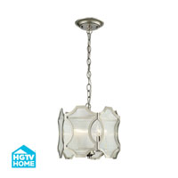 HGTV HOME Benicia 3 Light Pendant in Polished Nickel 31456/3