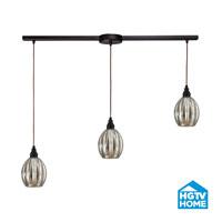 HGTV HOME Danica 3 Light Pendant in Oiled Bronze 46007/3L