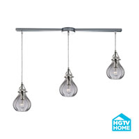 HGTV HOME Danica 3 Light Chandelier in Polished Chrome 46014/3L