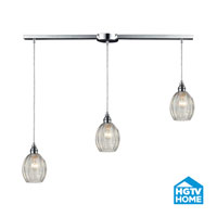 HGTV HOME Danica 3 Light Pendant in Polished Chrome 46017/3L