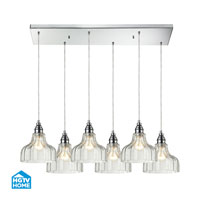HGTV HOME Danica 6 Light Pendant in Polished Chrome 46018/6RC