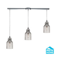 HGTV HOME Danica 3 Light Chandelier in Polished Chrome 46019/3L