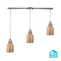 HGTV HOME Danica 3 Light Chandelier in Polished Chrome 46029/3L