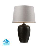 HGTV HOME Ceramic Table Lamp in Freeport Bronze HGTV161