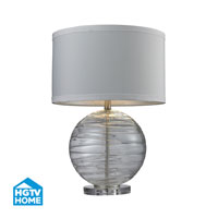HGTV HOME 1 Light Table Lamp in Clear HGTV241