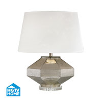 HGTV HOME Guild 1 Light Table Lamp in Antique Mercury HGTV343