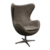 Edison Stainless Swivel Chair